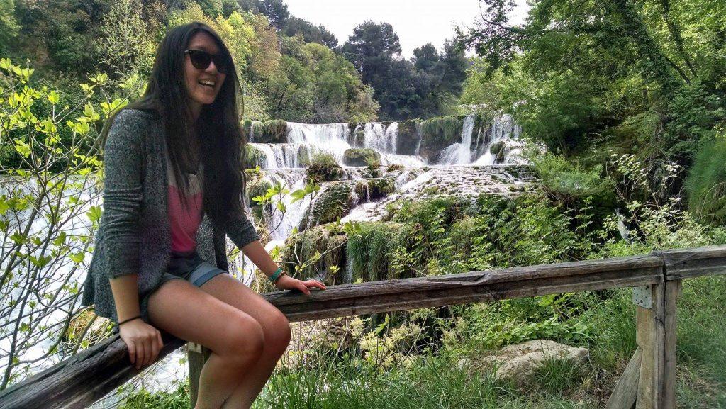 Vivian Wang explores Italian nature sights while studying abroad