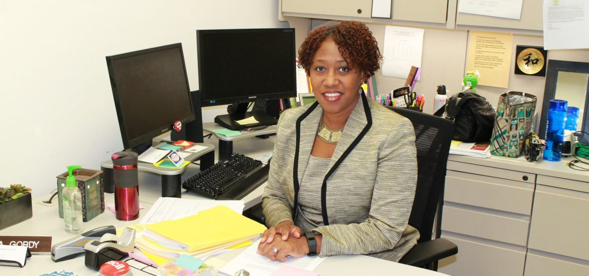 Pamela Gordy, Director of Financial Aid Office at Rowan University