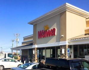 Wawa building.