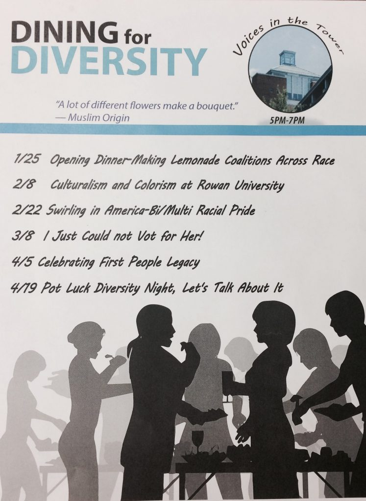 dining for diversity poster