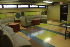 Mullica Hall Lounge area