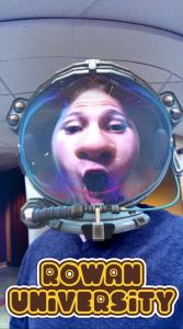 student snapchat at Rowan
