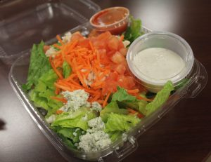 Buffalo chicken salad combination