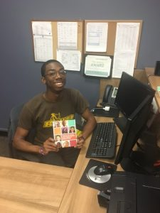 student worker in office of social justice and inclusion
