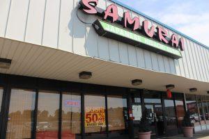 Samauri sushi