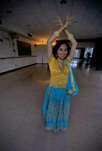 dance studio posing