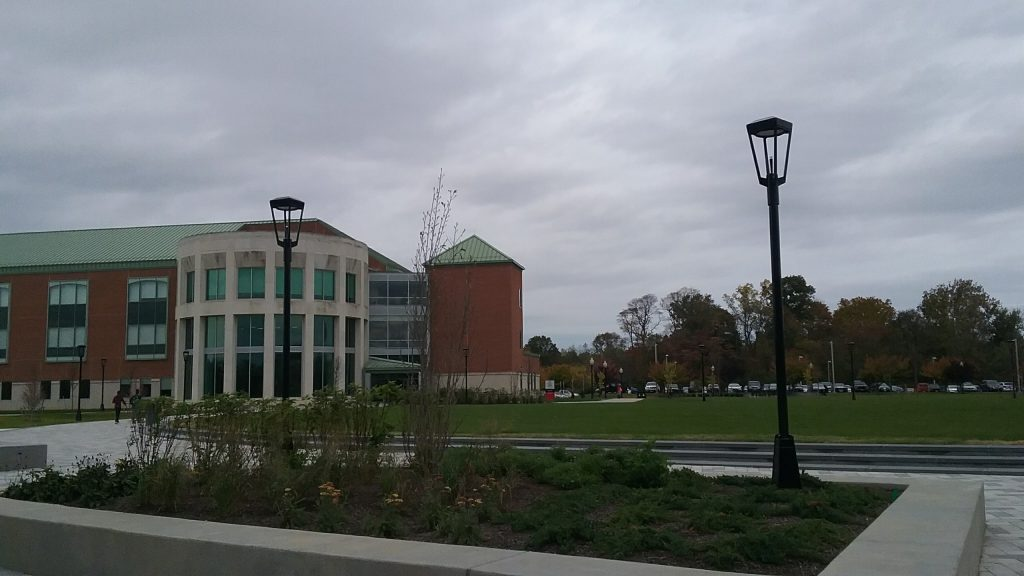 brick building at Rowan College at Burlington County, partnership with Rowan University