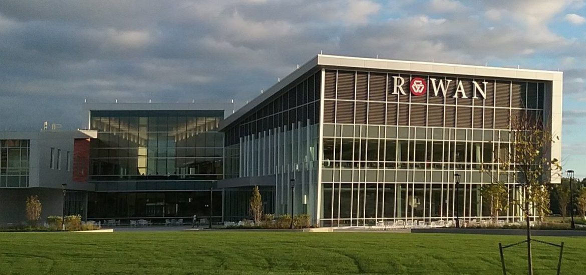 Main building at Rowan College at Burlington County partnership with Rowan University