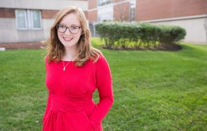 Rowan student Melissa Glenn- art education major