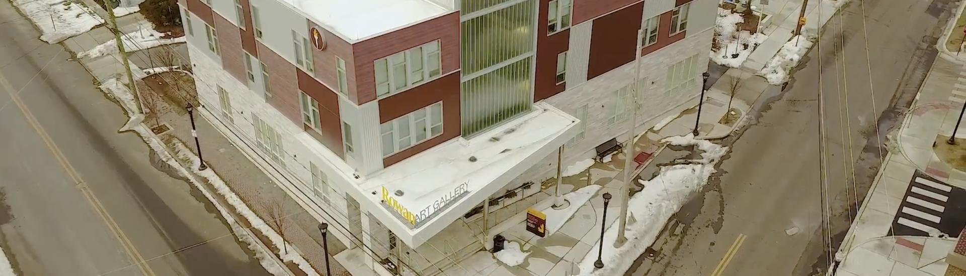 Rowan University 301 High Street Drone Shot