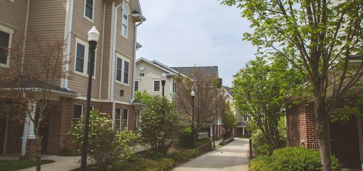 Rowan University Townhouses