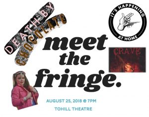 meet the fringe ad poster