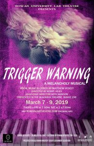 Trigger Warning advertisement, for Matt's musical