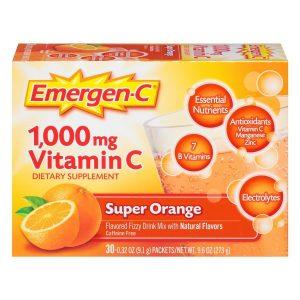 Emergen-c Vitamin tablets!