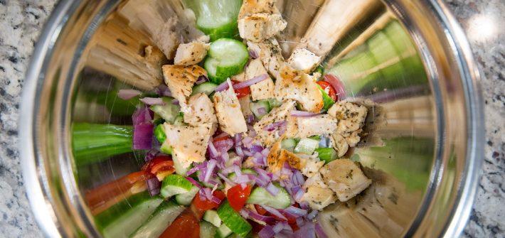 chicken dish Alyssa cooked