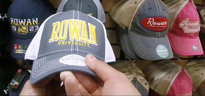 Rowan University Baseball Cap from the Barnes and Noble Bookstore