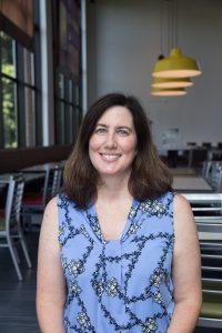 Author Heidi Newell, parent of a Rowan sophomore