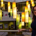 PCI alumna Yaniris Patton-Cintron in Chamberlain Student Center