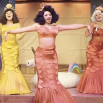"""Rowan alumna Vanessa Vause in a performance of """"The Little Mermaid"""""""