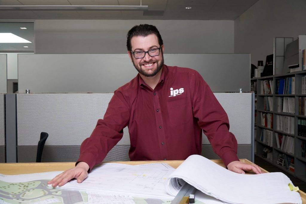 Rowan alumnus Theodore Cohen at his office at IPS