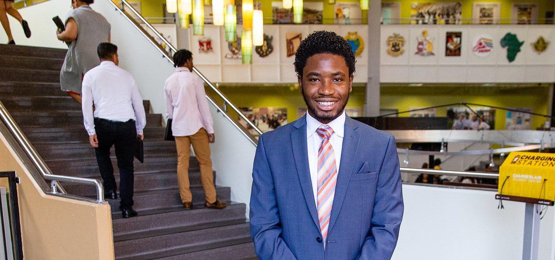 PCI alumnus Minelson Louis-Baptiste