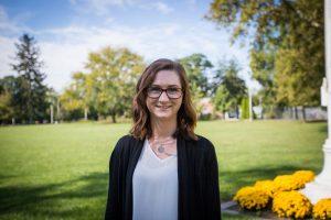 Admissions counselor Amanda Kuster