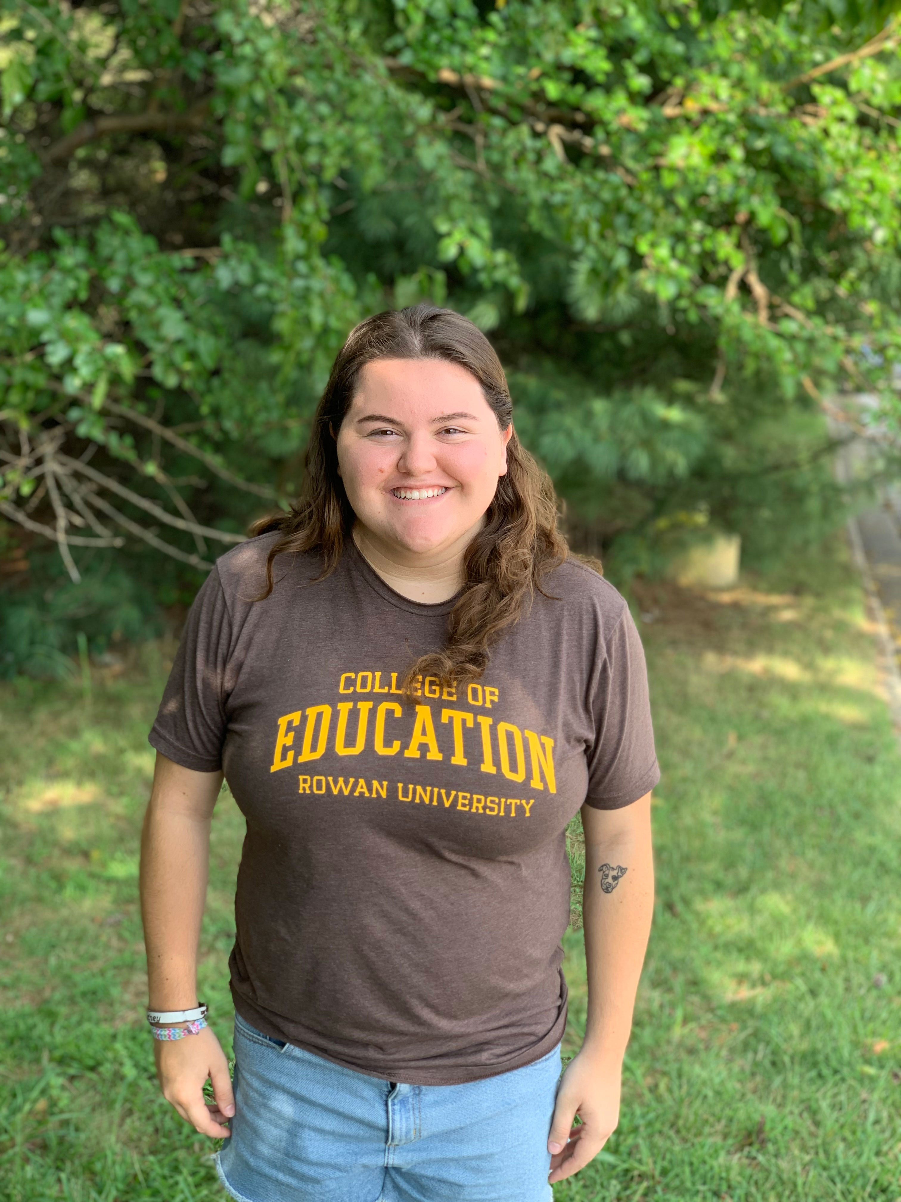 Courtney Morrone, an Early Childhood Education major