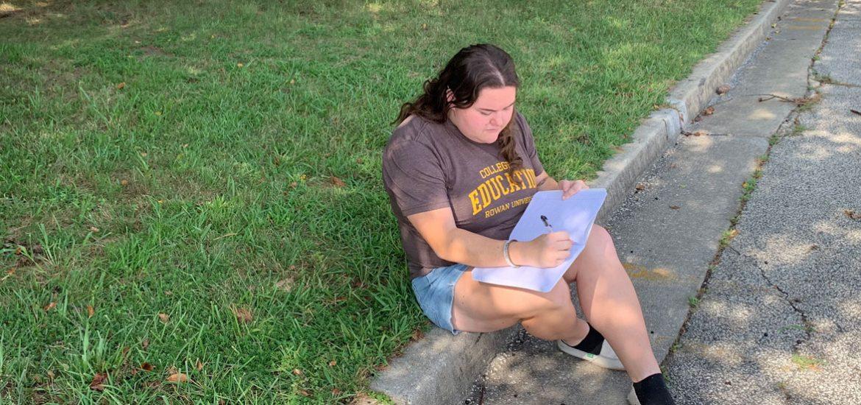 Courtney Morrone, an Early Childhood Education major