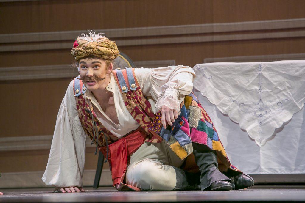 Rowan Music Performance major Jesse Panico in the Rowan Opera