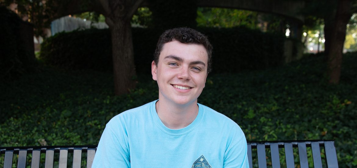 Public Relations and Advertising major Griffin Gallagher is featured in this PROFspective