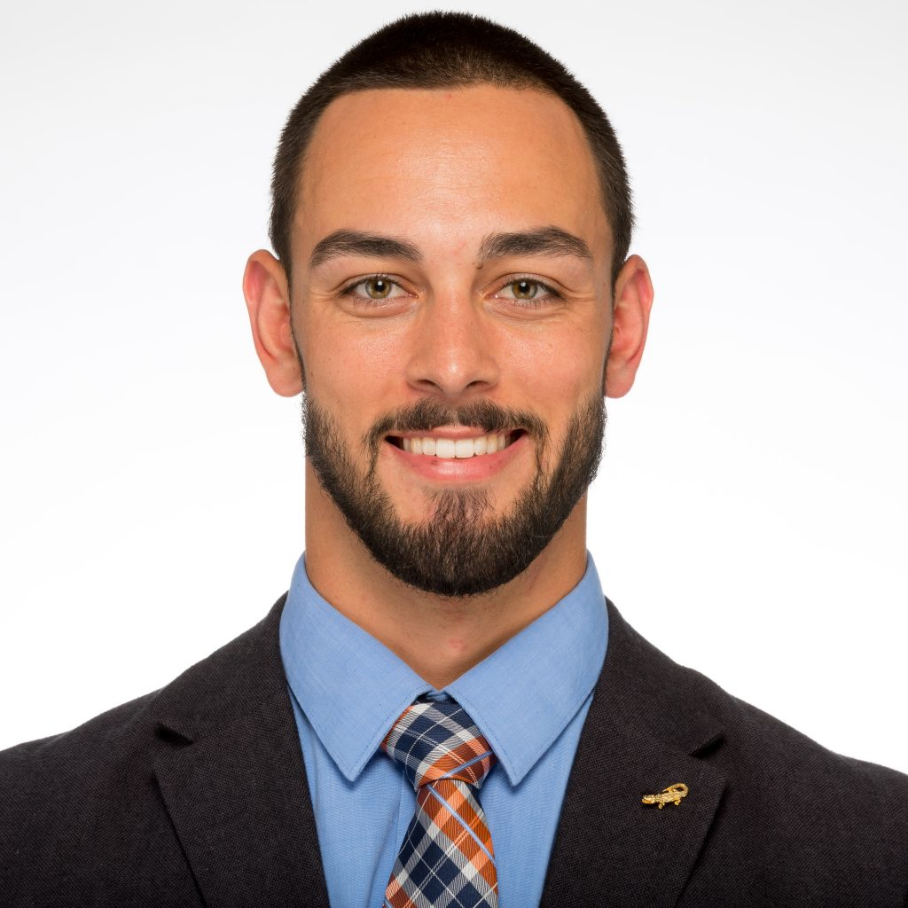 Headshot of Rowan alumnus Cory Bennett, who now works for the University of Florida