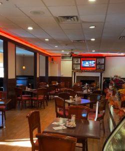 Interior shot of the of Fireside Family Restaurant