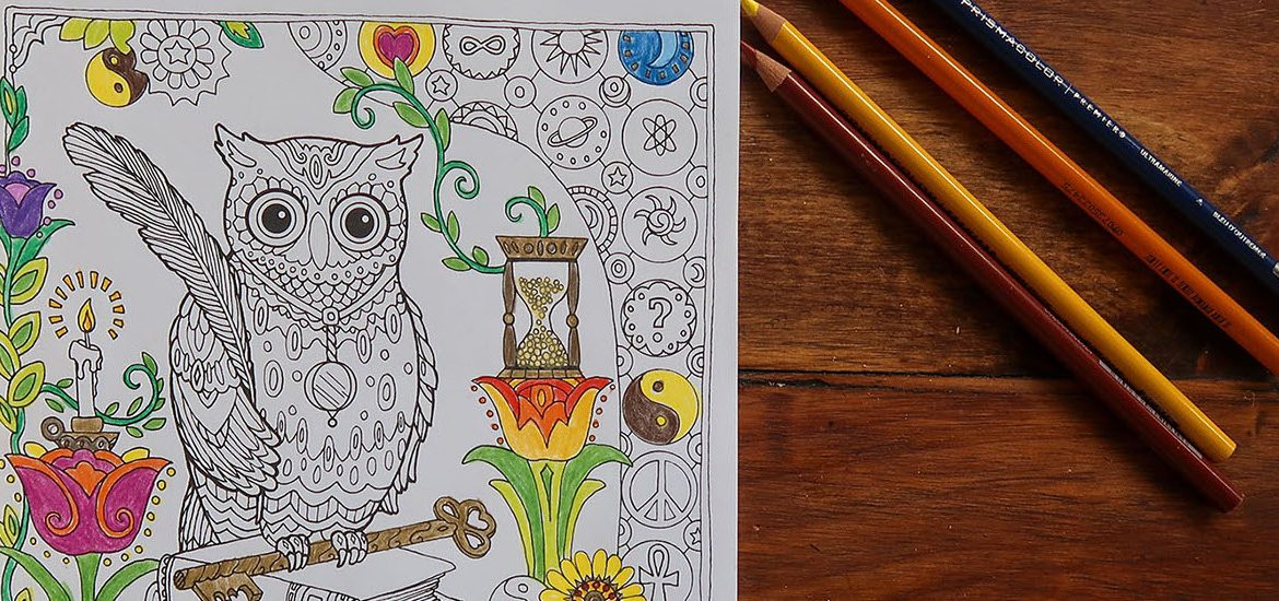 Rowan coloring book pages