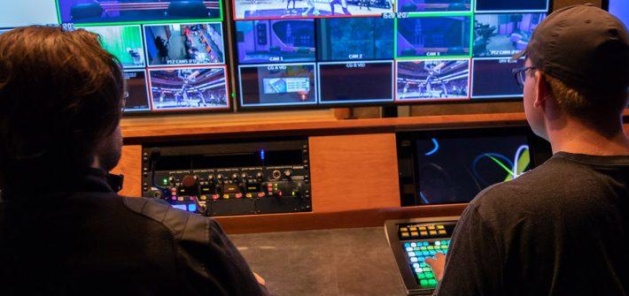 Inside one of the RTF studios
