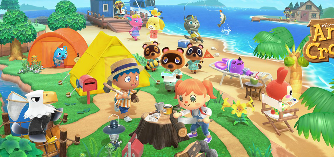 Screenshot of Animal Crossing