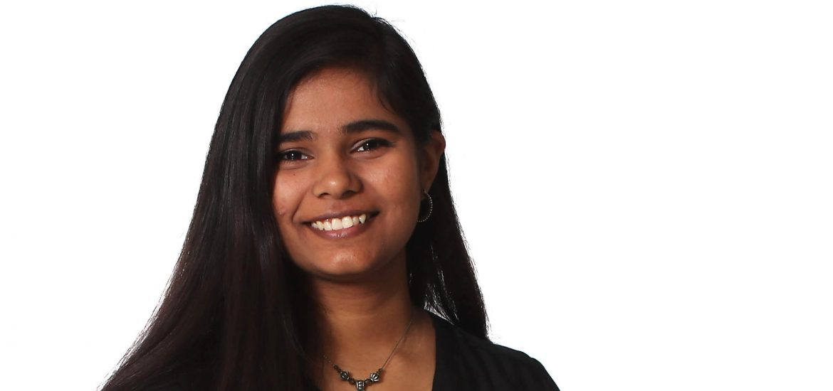 A headshot of Aarushi with a white background.