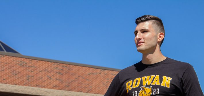 Marko looks to the horizon.