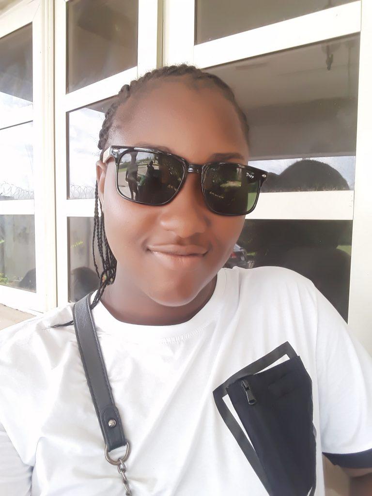 Selfie of TitobiOluwa.