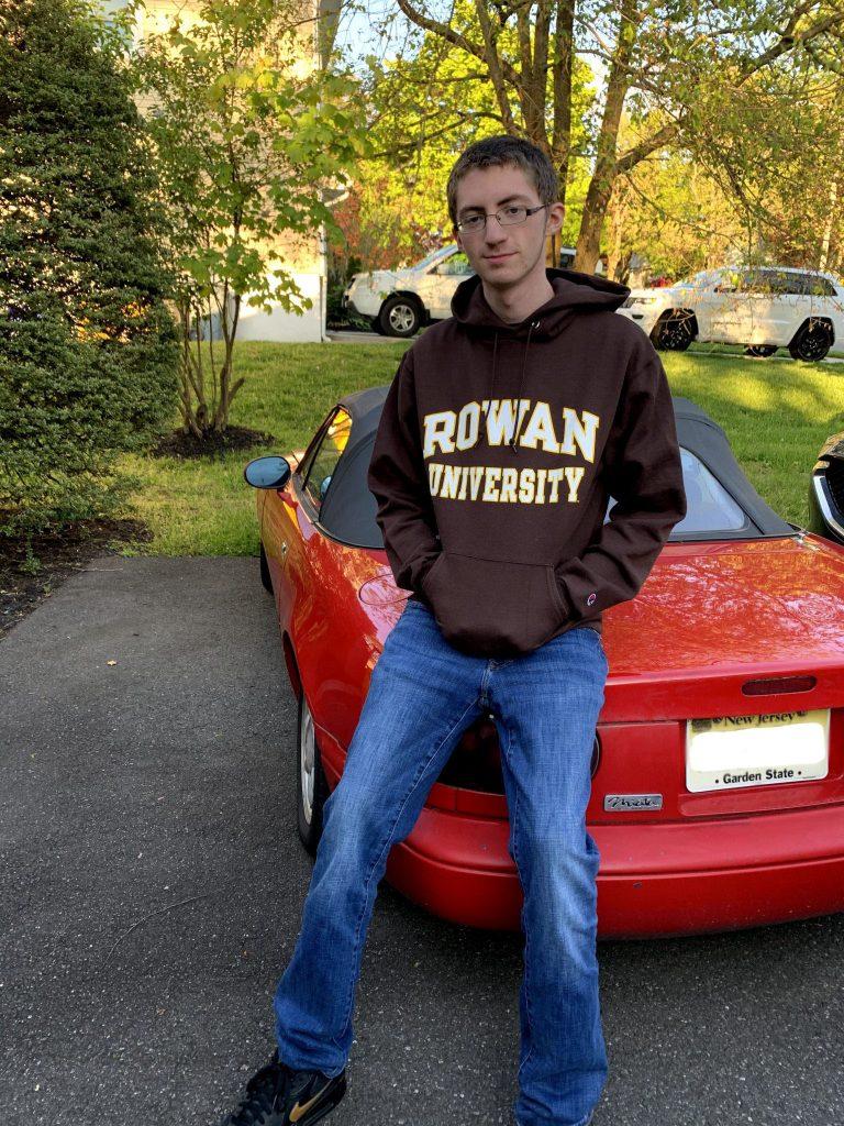 Photo of AJ Marchev in Rowan apparel.