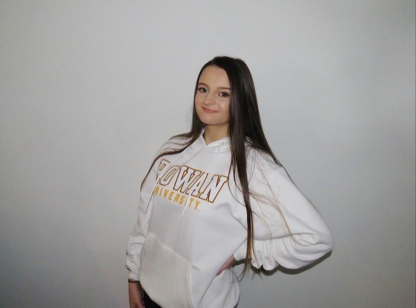 Photo of Brianna in Rowan apparel.