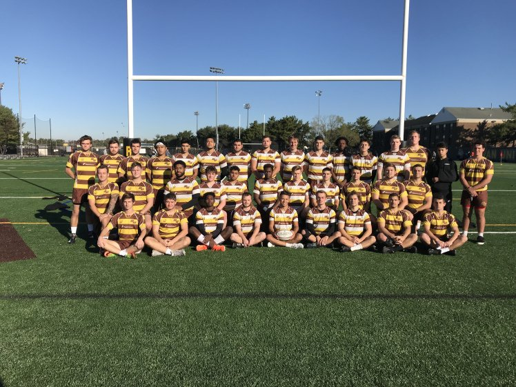 A group picture of the Rowan Club Rugby Team.