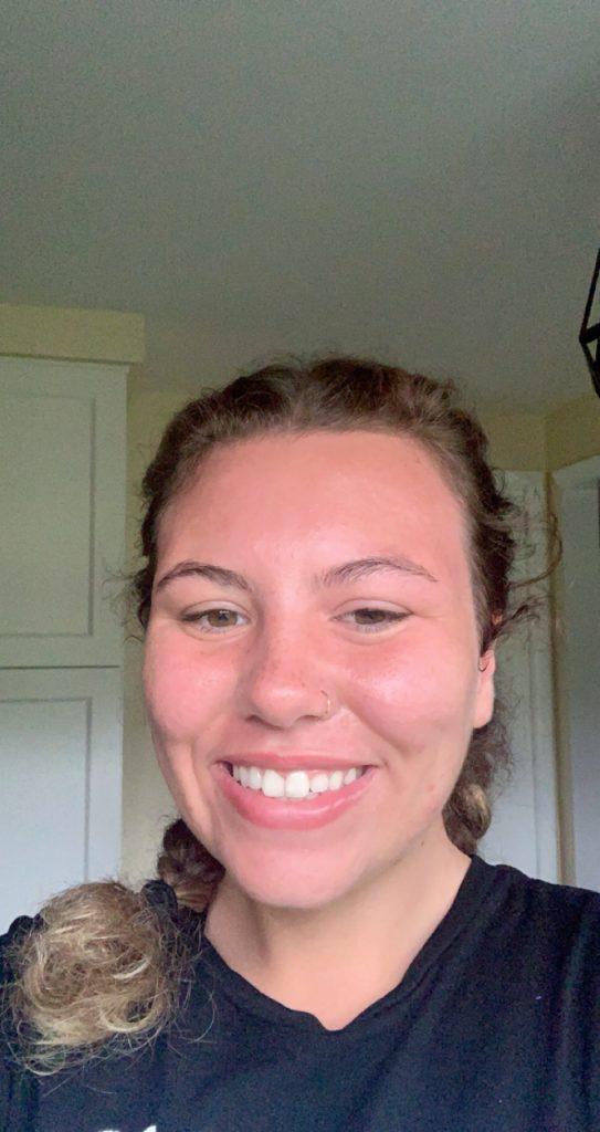 Mechanical engineering major Olivia Mason smiles for the camera.