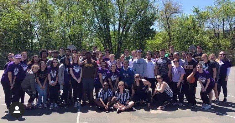 Rowan's Phi Sigma Pi fraternity
