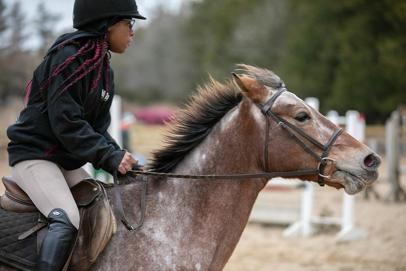 Member of the Equestrian Team.
