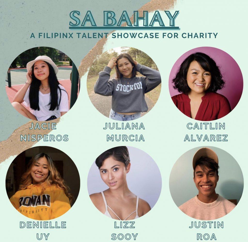 A social media flyer for the Filipinx Talent Showcase.