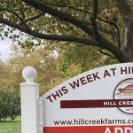 hill creek farms sign