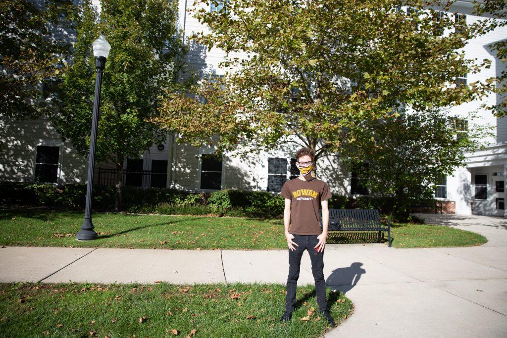 Jon Colon poses outside of RoBo.