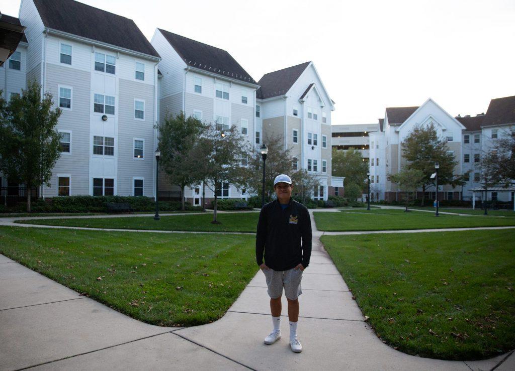 Erwin Lopez poses outside of RoBo