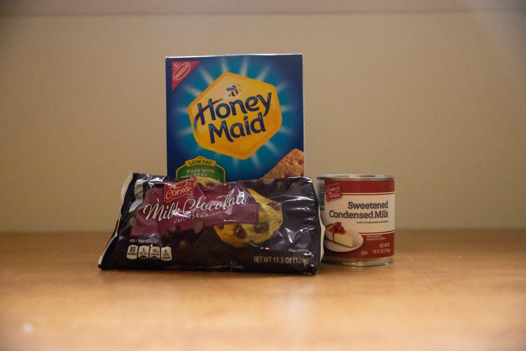 Ingredients for 123 Cookies.