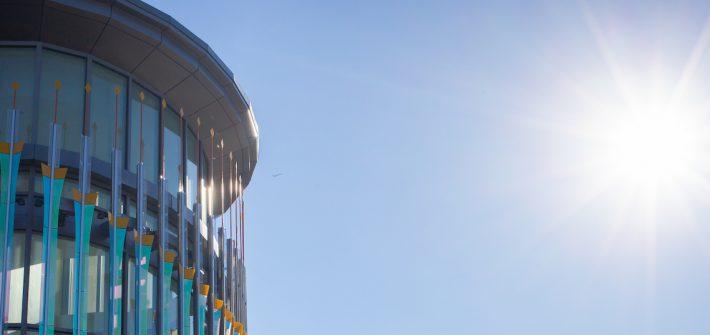 Sunshine and Business Hall.